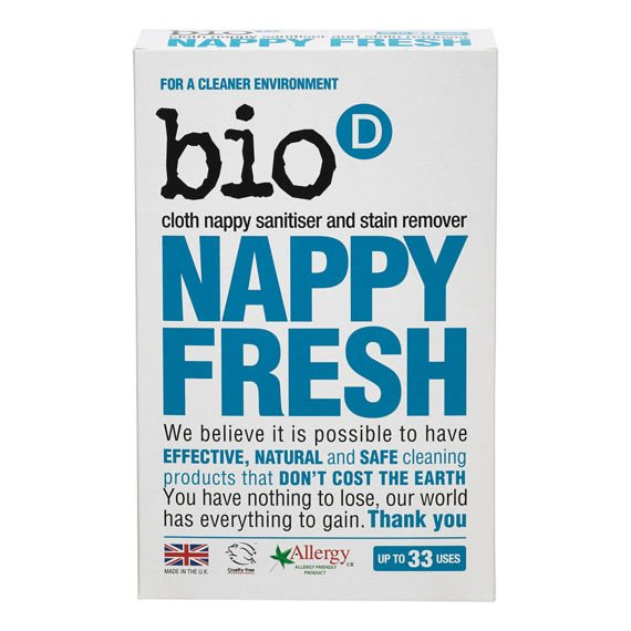 Bio D, Nappy Fresh - proszek do prania pieluch